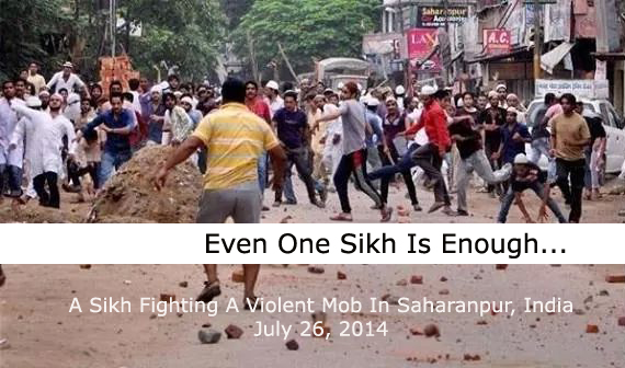 One Sikh Is Enough